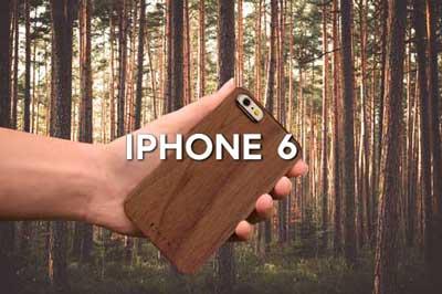 Coques de protection bois iphone s6