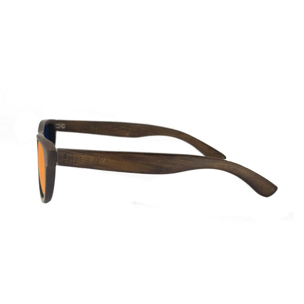 Lunettes de soleil - Murielo Small Orange Mirror