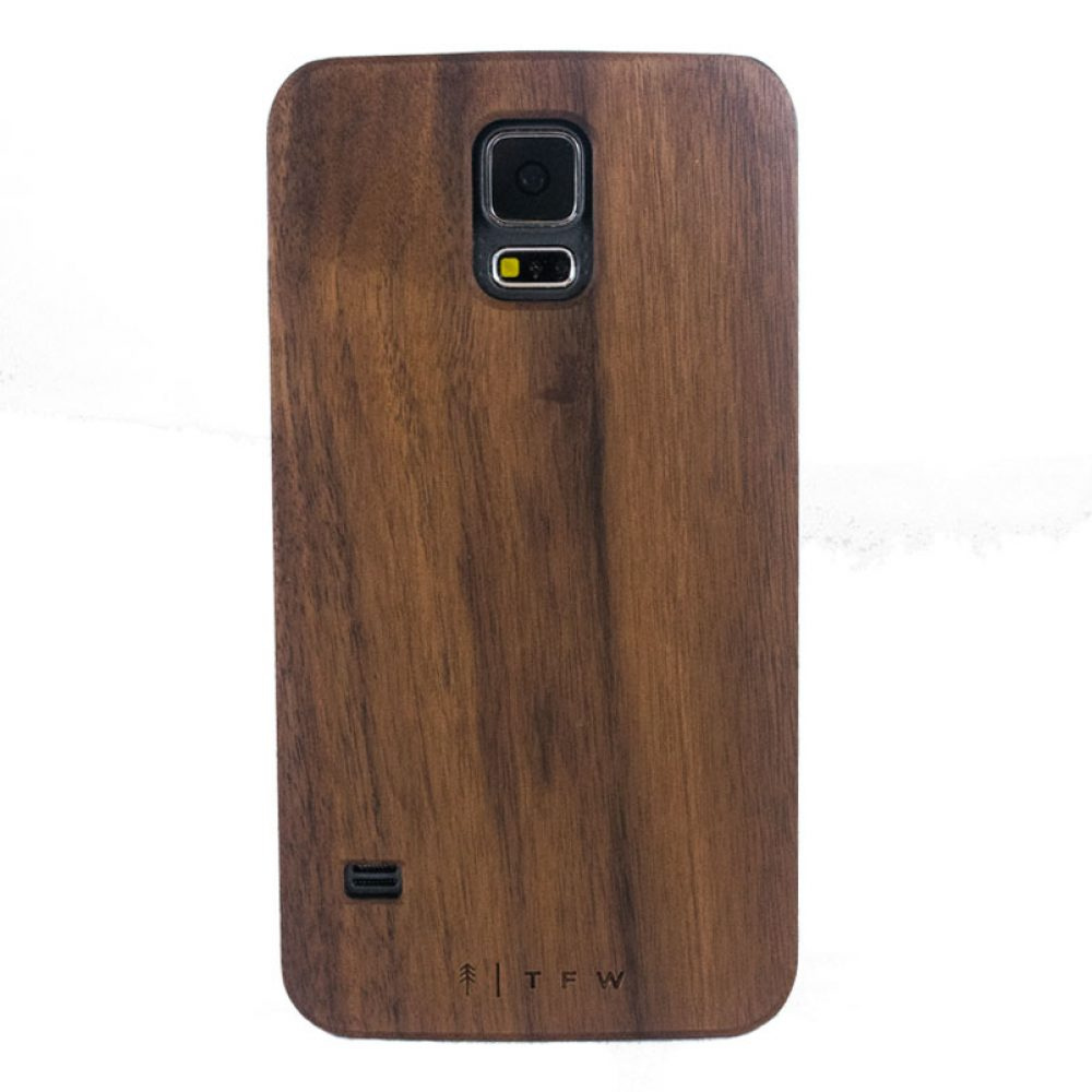 Coque de protection Galaxy S5 en bois - Borino
