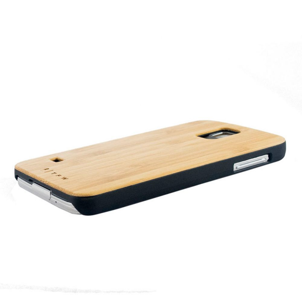 Coque de protection Galaxy S5 en bois - Edulo