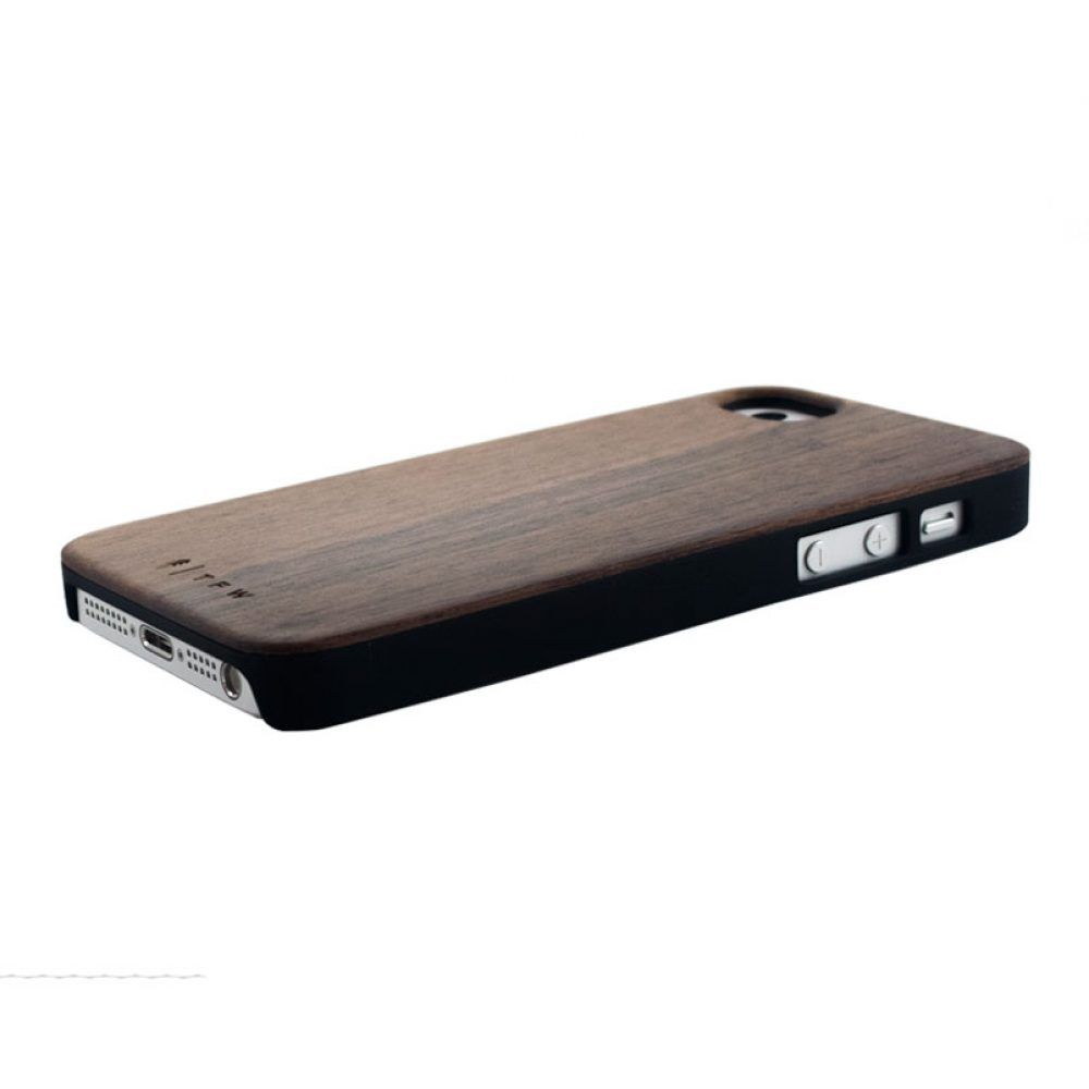 Coque iPhone 5/5S/SE en bois de Noyer - Dalbergo