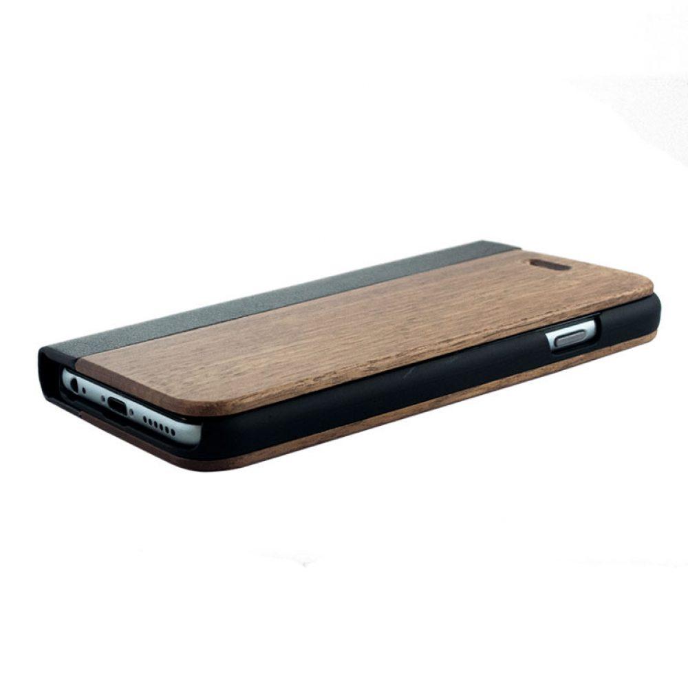Étui à clapet en bois iPhone 6/6s