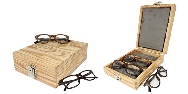 Lunettes de vue en bois - Retto Ebony - Finesso by Time For Wood 8becf39b3415
