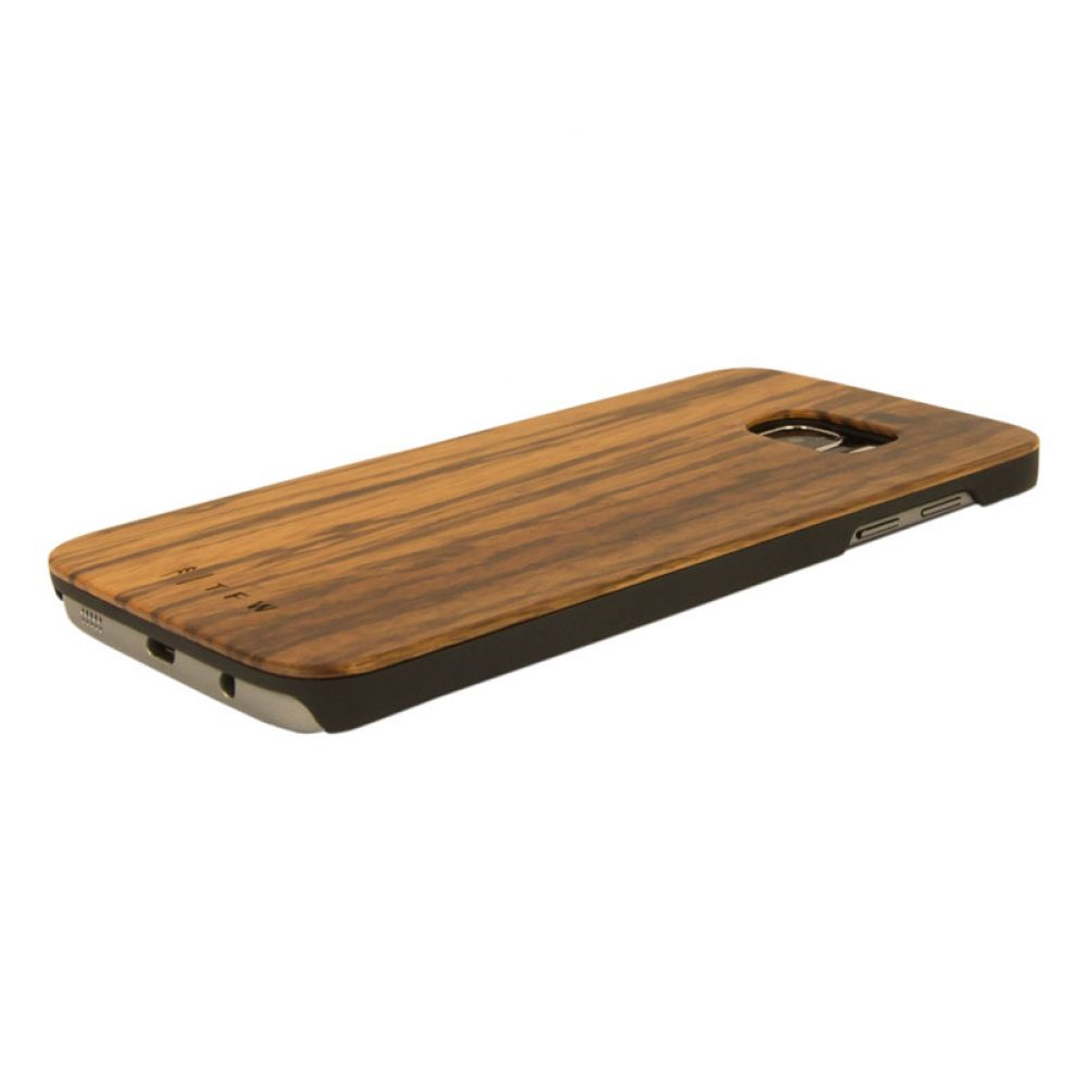 coque de protection en bois Samsung S7 H