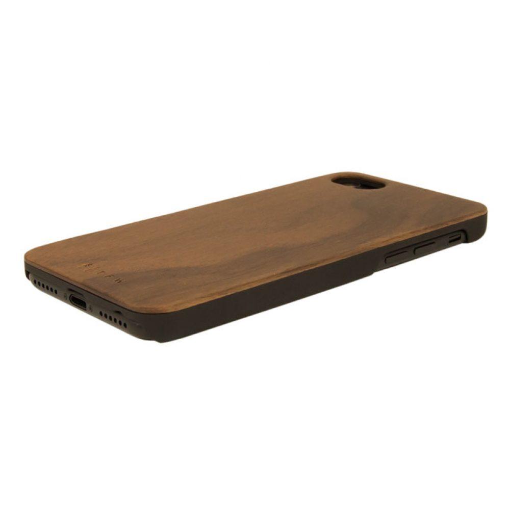 Coque de protection en bois pour iphone 7