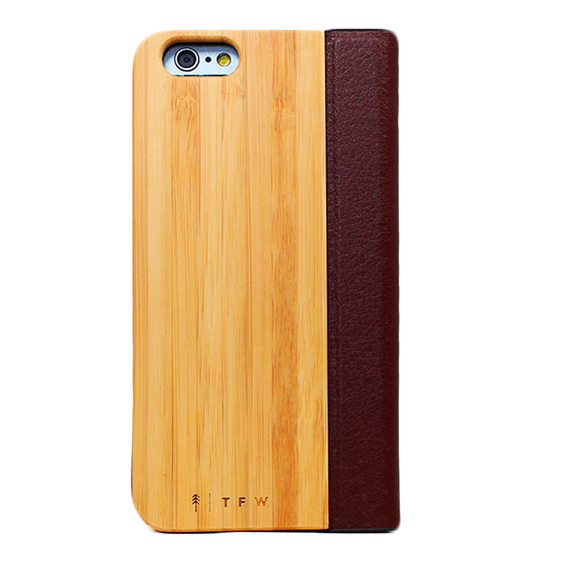 coque en bois iphone 6 6s clapet aurico time for wood. Black Bedroom Furniture Sets. Home Design Ideas