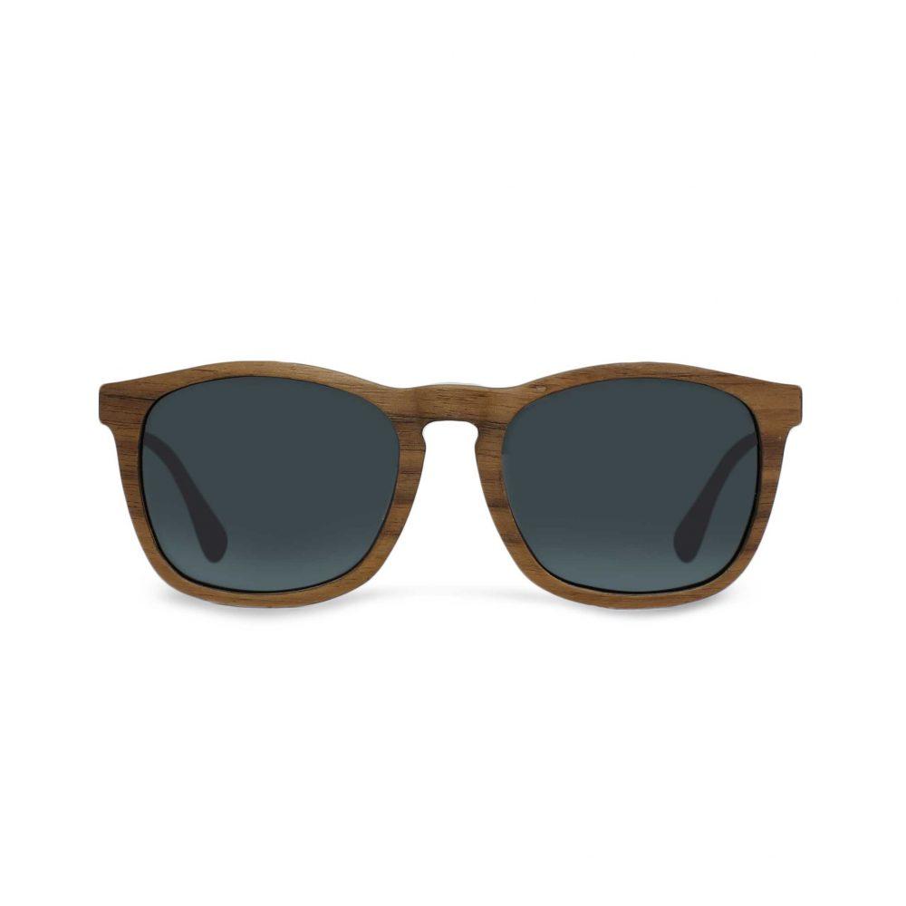 lunettes en bois et métal