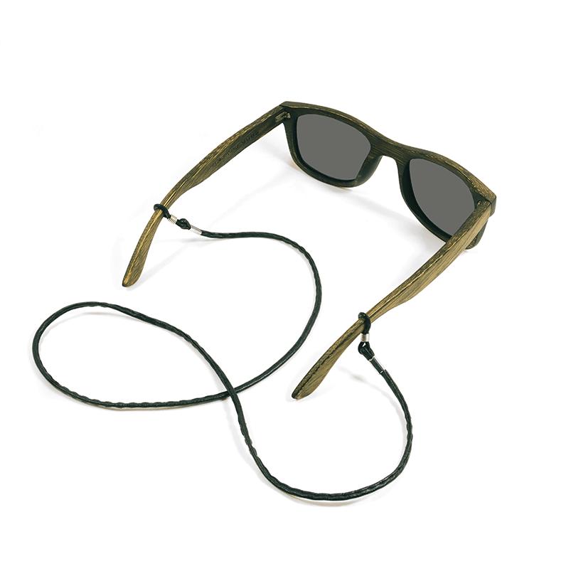 Cordon à lunettes en cuir